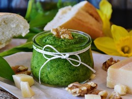 Medvedi cesnak_Pesto_Image by RitaE from Pixabay_4-3